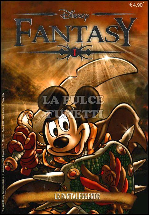 ASTROMONDI DI TOPOLINO #     7 - DISNEY FANTASY 1: LE FANTALEGGENDE