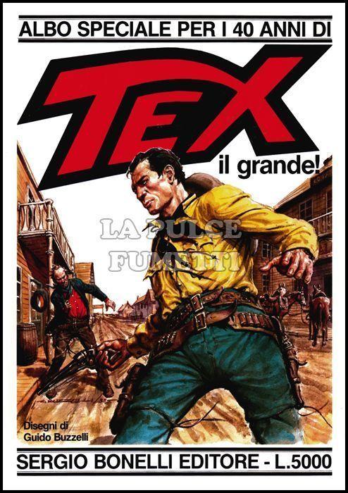 TEX ALBO SPECIALE     1/20 ORIGINALI