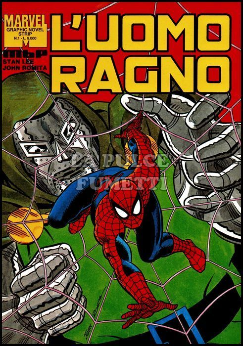 BHANG - MARVEL GRAPHIC NOVEL STRIP #     1 - L'UOMO RAGNO 1