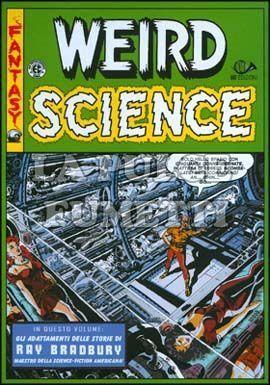 WEIRD SCIENCE COFANETTO VUOTO