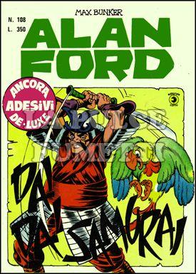 ALAN FORD ORIGINALE #   108: DAI DAI SAMURAI - NO ADESIVI