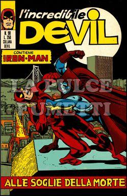L'INCREDIBILE DEVIL #    90: ALLE SOGLIE DELLA MORTE