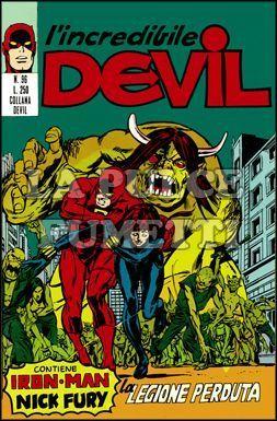 L'INCREDIBILE DEVIL #    96: LA LEGIONE PERDUTA