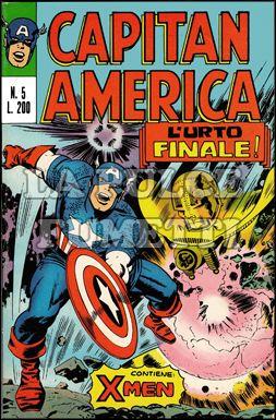 CAPITAN AMERICA #     5: L'URTO FINALE