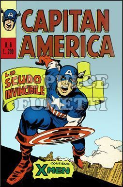 CAPITAN AMERICA #     6: LO SCUDO INVINCIBILE