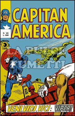 CAPITAN AMERICA #    69: VENI VIDI VICI: VIPER!