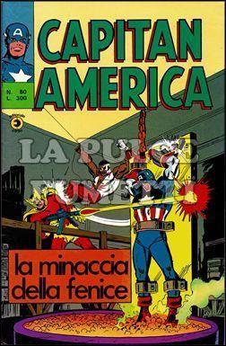 CAPITAN AMERICA #    80: LA MINACCIA DELLA FENICE