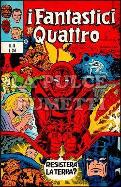 FANTASTICI QUATTRO #    74: RESISTERA'  LA TERRA?