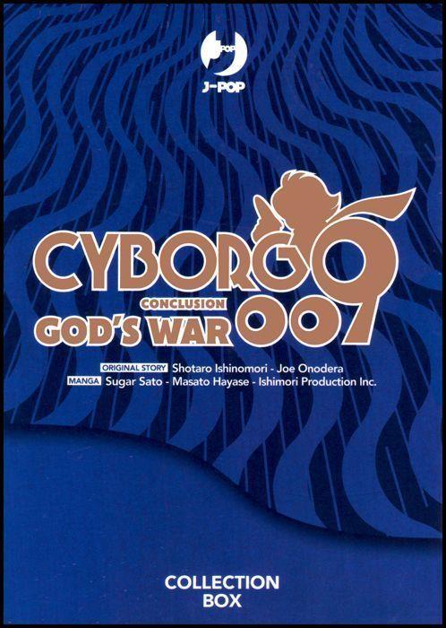 CYBORG 009 CONCLUSION GOD'S WAR - COLLECTION BOX ( VOLUMI 1-2-3-4-5 )