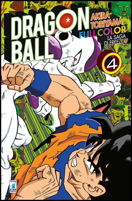 DRAGON BALL FULL COLOR #    19 - LA SAGA DI FREEZER 4 ( DI 5 )