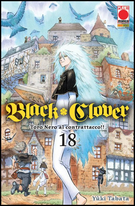 PURPLE #    31 - BLACK CLOVER 18