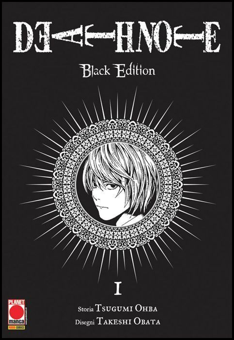 DEATH NOTE BLACK EDITION #     1 - 6A RISTAMPA