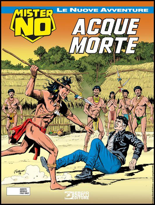 COLLANA AMAZZONIA #     2 - MISTER NO LE NUOVE AVVENTURE 2: ACQUE MORTE