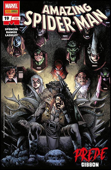 UOMO RAGNO #   728 - AMAZING SPIDER-MAN 19