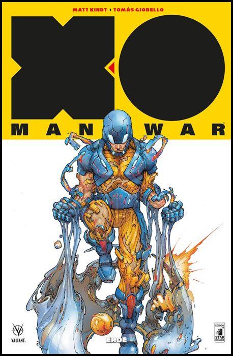 VALIANT #   113 - X-O MANOWAR NUOVA SERIE 7: EROE