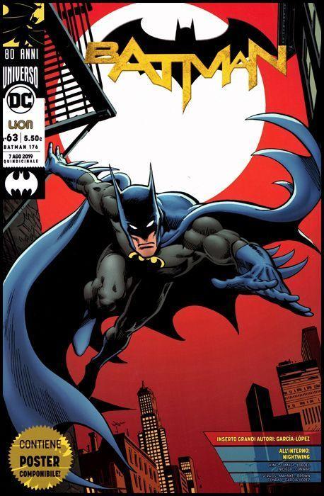 BATMAN #   176 - BATMAN 63 - BATMAN 80 ANNI: GRANDI AUTORI + POSTER