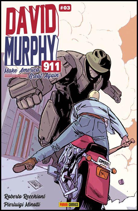 DAVID MURPHY 911 - SEASON TWO #     3 - COVER A