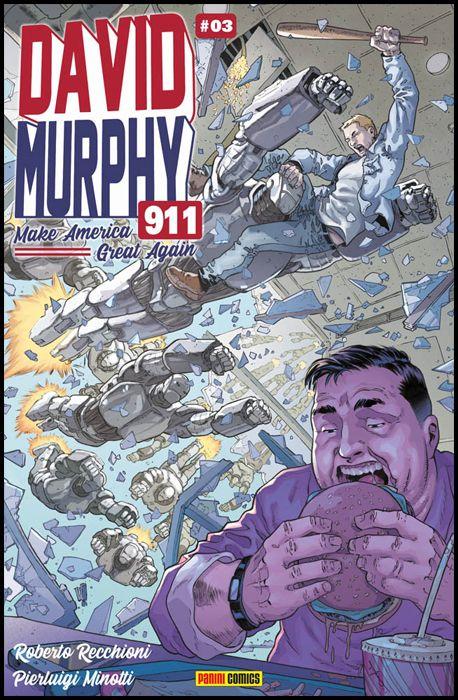 DAVID MURPHY 911 - SEASON TWO #     3 - COVER B