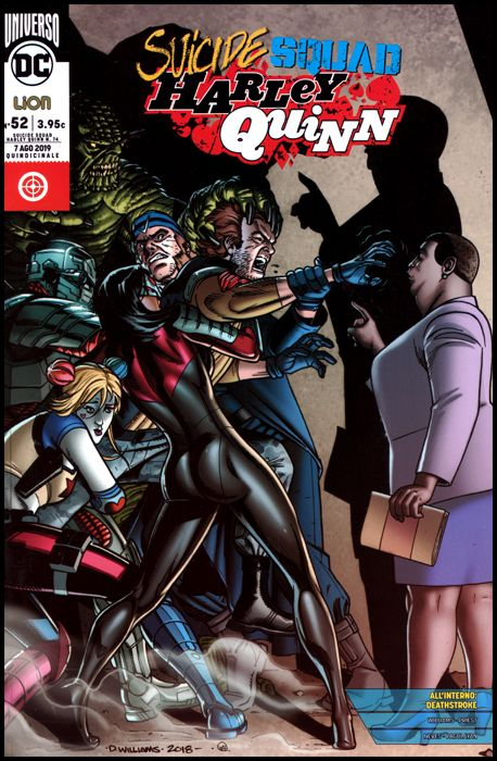 SUICIDE SQUAD/HARLEY QUINN #    74 - SUICIDE SQUAD/HARLEY QUINN 52