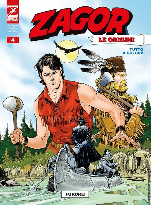 ZAGOR ALBO GIGANTE #    13 - ZAGOR LE ORIGINI 4: FURORE!