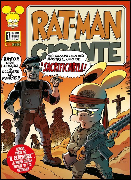 RAT-MAN GIGANTE #    67: I SACRIFICABILI - IL CERCATORE 5