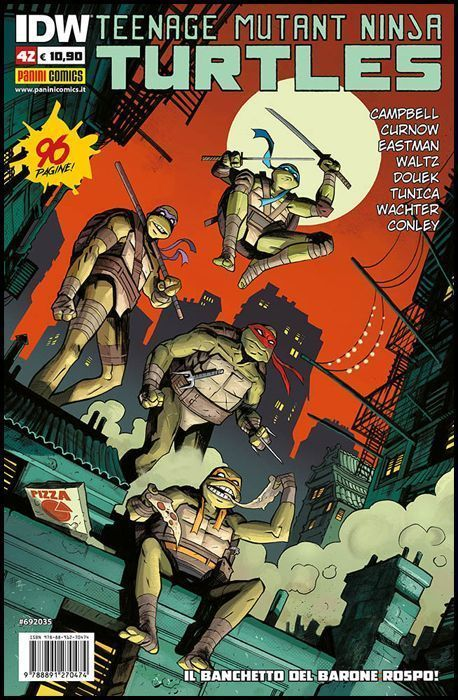 TEENAGE MUTANT NINJA TURTLES #    42
