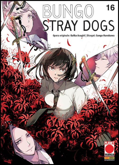 MANGA RUN #    16 - BUNGO STRAY DOGS 16