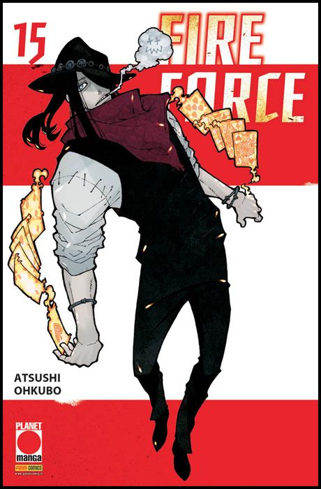 MANGA SUN #   126 - FIRE FORCE 15