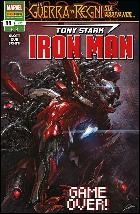 IRON MAN #    75 - TONY STARK - IRON MAN 11 - LA GUERRA DEI REGNI STA ARRIVANDO...