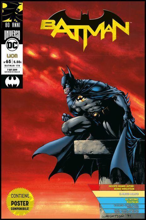 BATMAN #   178 - BATMAN 65 - BATMAN 80 ANNI: GRANDI AUTORI + POSTER