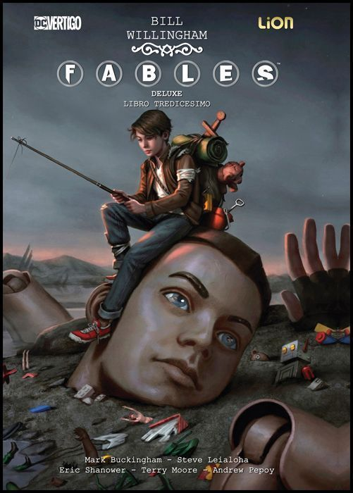 FABLES DELUXE #    13