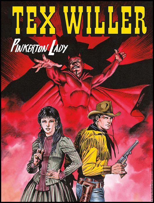TEX WILLER #    10: PINKERTON LADY