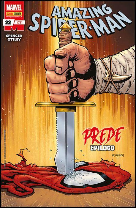 UOMO RAGNO #   731 - AMAZING SPIDER-MAN 22