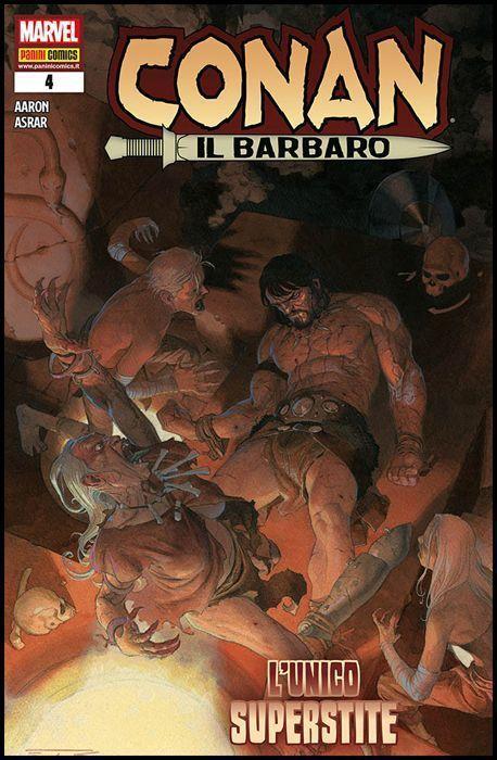 CONAN IL BARBARO #     4
