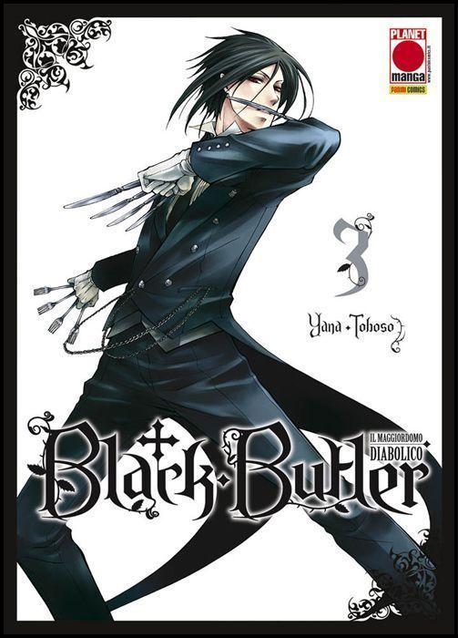 BLACK BUTLER #     3 - IL MAGGIORDOMO DIABOLICO - KUROSHITSUJI - 4A RISTAMPA