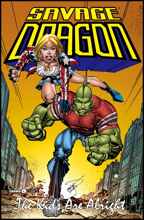 COSMO COMICS SAVAGE DRAGON - SAVAGE DRAGON #    30: THE KIDS ARE ALRIGHT