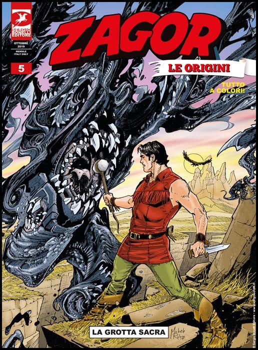 ZAGOR ALBO GIGANTE #    14 - ZAGOR LE ORIGINI 5: LA GROTTA SACRA