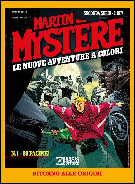 MARTIN MYSTERE GIGANTE #    26 - MARTIN MYSTERE - LE NUOVE AVVENTURE A COLORI 2A SERIE 1: RITORNO ALLE ORIGINI
