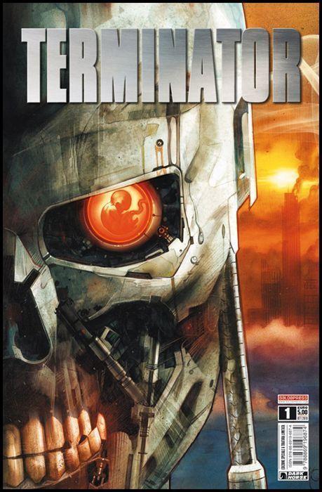TERMINATOR #     1 - VARIANT COVER - EDIZIONE SPECIALE A TIRATURA LIMITATA