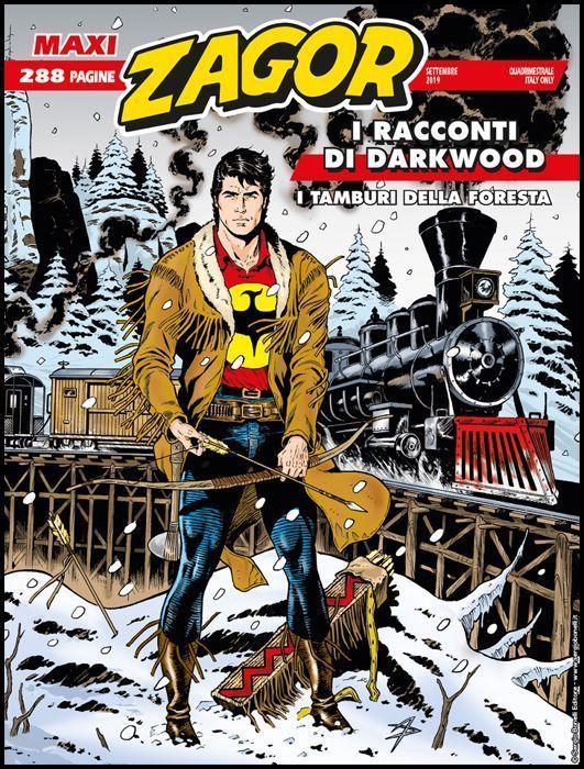ZAGOR MAXI #    37: I RACCONTI DI DARKWOOD 3 - I TAMBURI DELLA FORESTA