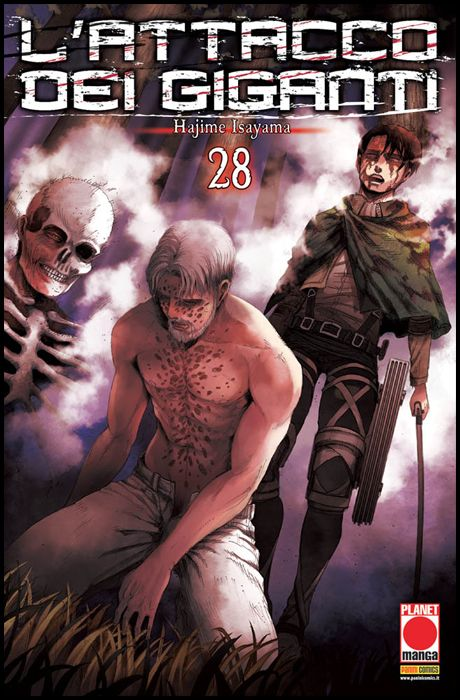 GENERATION MANGA #    28 - L'ATTACCO DEI GIGANTI 28