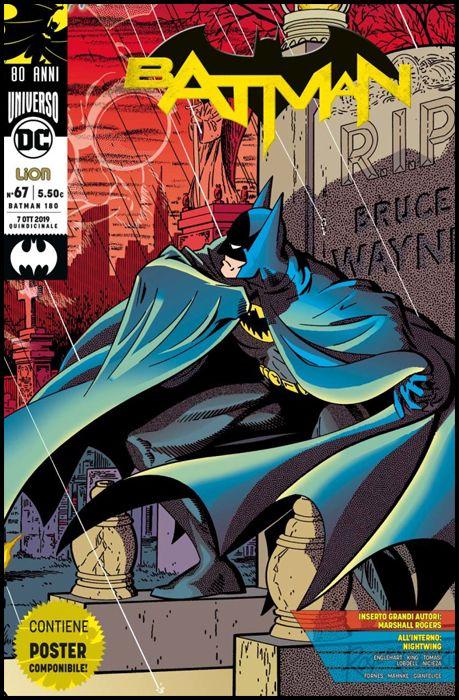 BATMAN #   180 - BATMAN 67 - BATMAN 80 ANNI: GRANDI AUTORI + POSTER