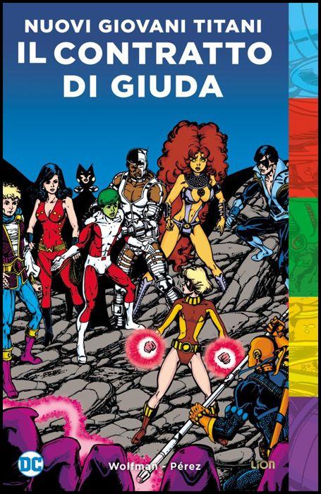 DC POP - NUOVI GIOVANI TITANI: IL CONTRATTO di GIUDA