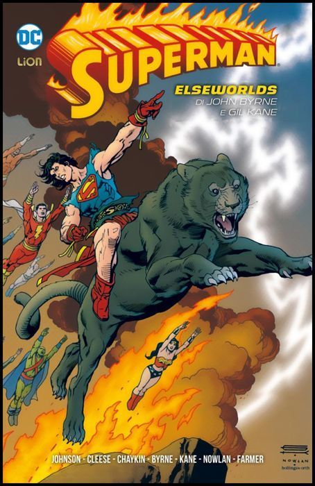 SUPERMAN LIBRARY - SUPERMAN: ELSEWORLDS DI JOHN BYRNE E GIL KANE