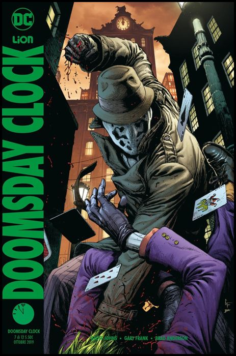 DC MULTIVERSE #    33 - DOOMSDAY CLOCK 7 - VARIANT PIN