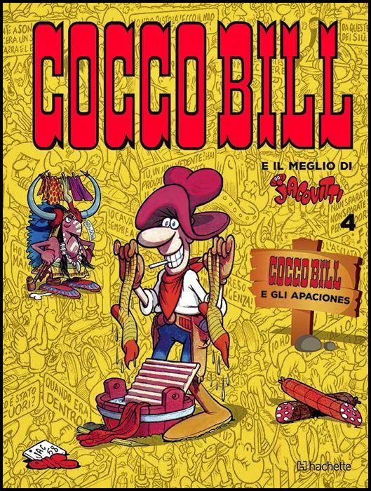 COCCOBILL E IL MEGLIO DI JACOVITTI - 2A EDIZIONE #     4: COCCO E GLI APACIONES