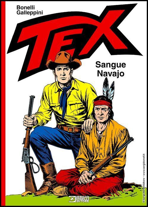 TEX: SANGUE NAVAJO - CARTONATO