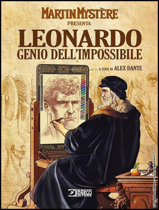 MARTIN MYSTERE PRESENTA: LEONARDO, GENIO DELL'IMPOSSIBILE