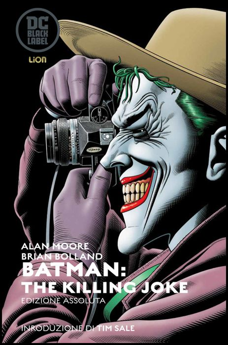 DC BLACK LABEL - DC ABSOLUTE - BATMAN THE KILLING JOKE - EDIZIONE ASSOLUTA CELEBRATIVA