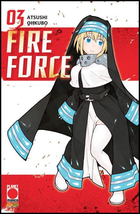 MANGA SUN #   114 - FIRE FORCE 3 - 1A RISTAMPA